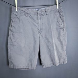J Crew Club Shorts Size 33 Gray Mens Flat Front